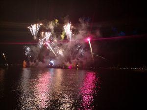 Feuerwerk in Epcot