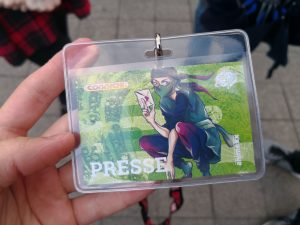 Presse-Ticket der Connichi