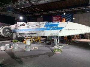 Ein Raumschiff