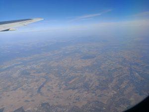 Abflug von Frankfurt