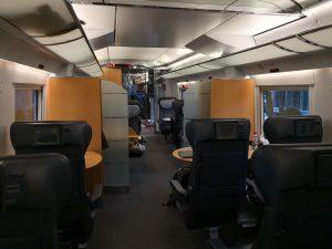 Innenraum, 1. Klasse