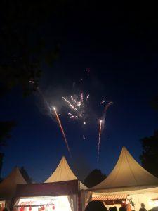 Feuerwerk auf der Connichi
