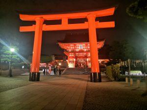 Schrein in Kyoto