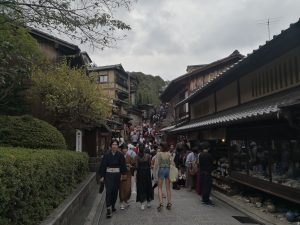 Straße in Kyoto