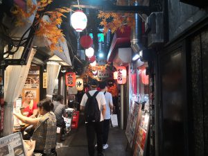 Gasse in Tokio